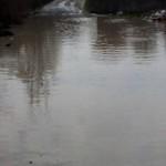 Во Львове улица превратилась в озерцо