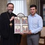 Глава УГКЦ встретился с Владимиром Зеленским