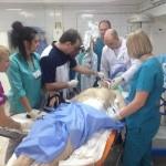 В Днепре третий час оперируют раненого военного из Львова