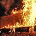 На Львовщине 65-летний мужчина погиб во время пожара в собственном доме