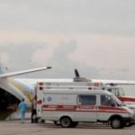 До Львова летит борт с ранеными на Донбассе бойцами