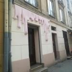 Владельца, который испортил фасад на Староеврейской во Львове, могут оштрафовать