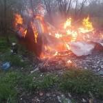 На Львовщине во время пожара сгорел человек