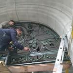 Во Львове отреставрировали уникальную арку на Григоренко (фото)