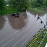 Из-за непогоды затопило Дрогобыч (фото)