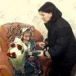 Жительнице села Верхний Лужок Старосамборского района исполнилось 100 лет (фото)