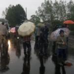 "На трассе ""Ивано-Франково–Жолква"" крестьяне перекрывали дорогу (фото)"