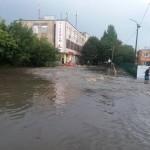 Потоп на Черновола: львовяне требуют реконструкции канализационного коллектора