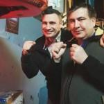 """Кличко предложил Саакашвили возглавить """"УДАР"""" и вместе идти на выборы"""