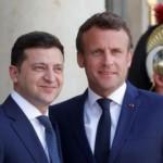 Зеленский провел телефонный разговор с Президентом Франции