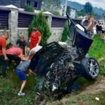 На Львовщине разбилась BMW X3: двое людей погибли, еще двое в больнице