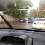 Во Львове снова затапливает улицы через дождь (фото)