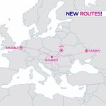 Wizz Air запустит новые рейсы из Будапешта до Львова