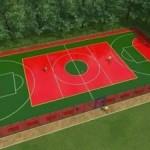 В Брюховичах появится многофункциональная спортивная площадка с наливным покрытием