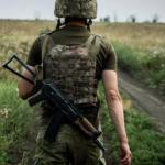 На Донбассе от вражеских обстрелов погиб украинский военный
